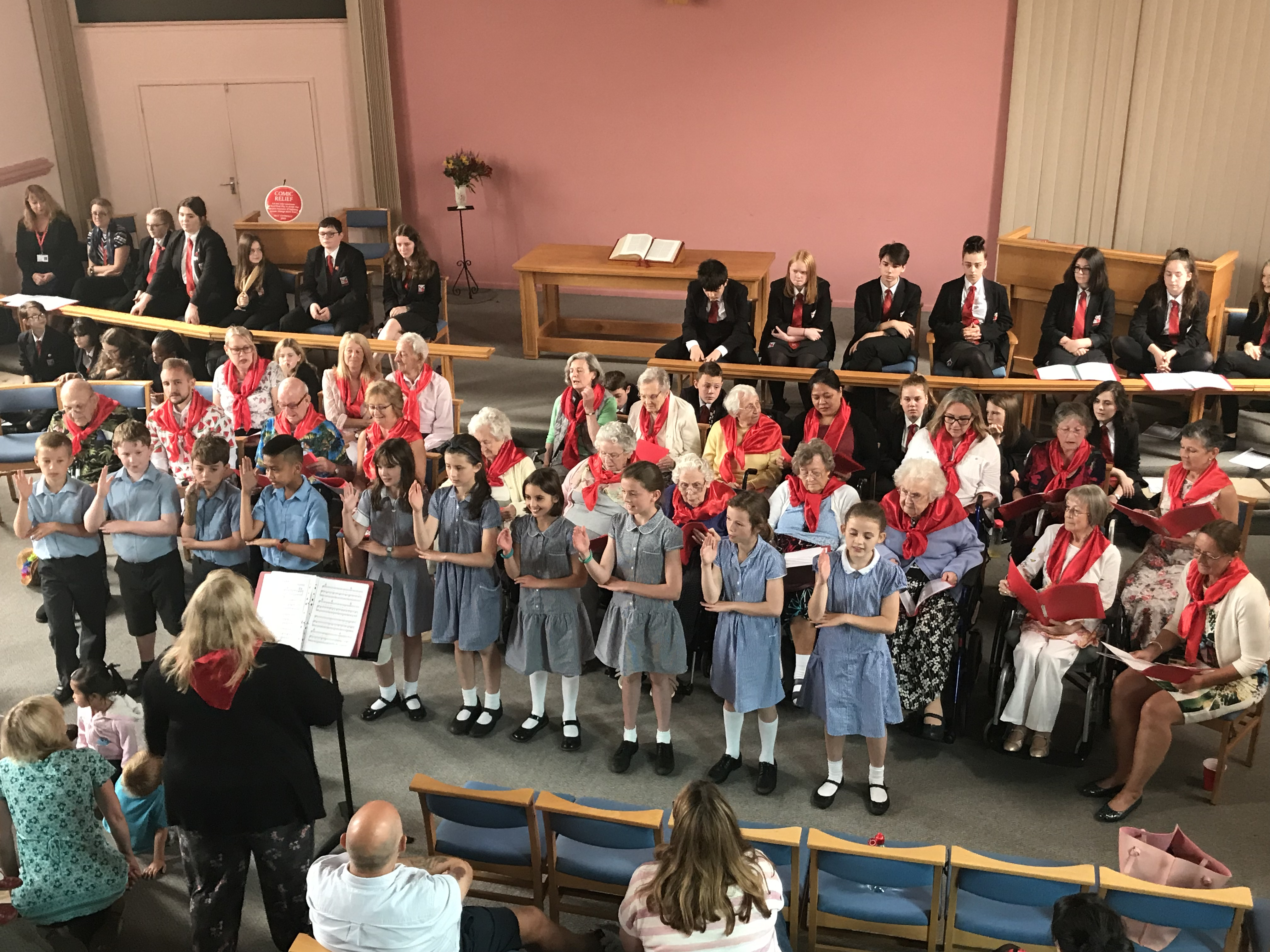 Woodbridge Combined Care Homes Choir's biggest Concert yet